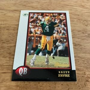 Brett Favre 1998 Bowman Card #125